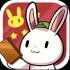 可爱的种花兔